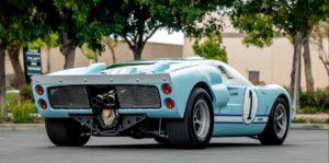 Ford GT40 pret de licitatie 484 000 usd vedere spate