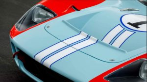 Ford GT40 detaliu fata