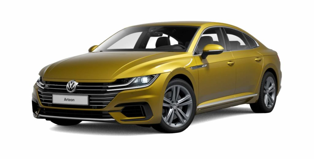 Volkswagen Arteon R-Line competitorul lui Audi A5