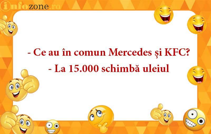 Ce au in comun Mercedes si KFC?