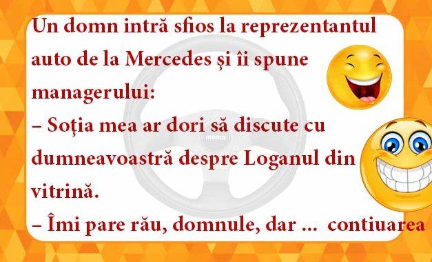 Logan la Mercedes