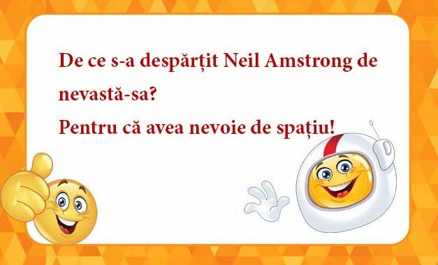 De ce s-a despărțit Neil Amstrong de nevastă-sa?